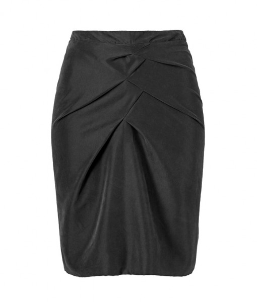 Thi-Thao-Drape-skirt-BLACK