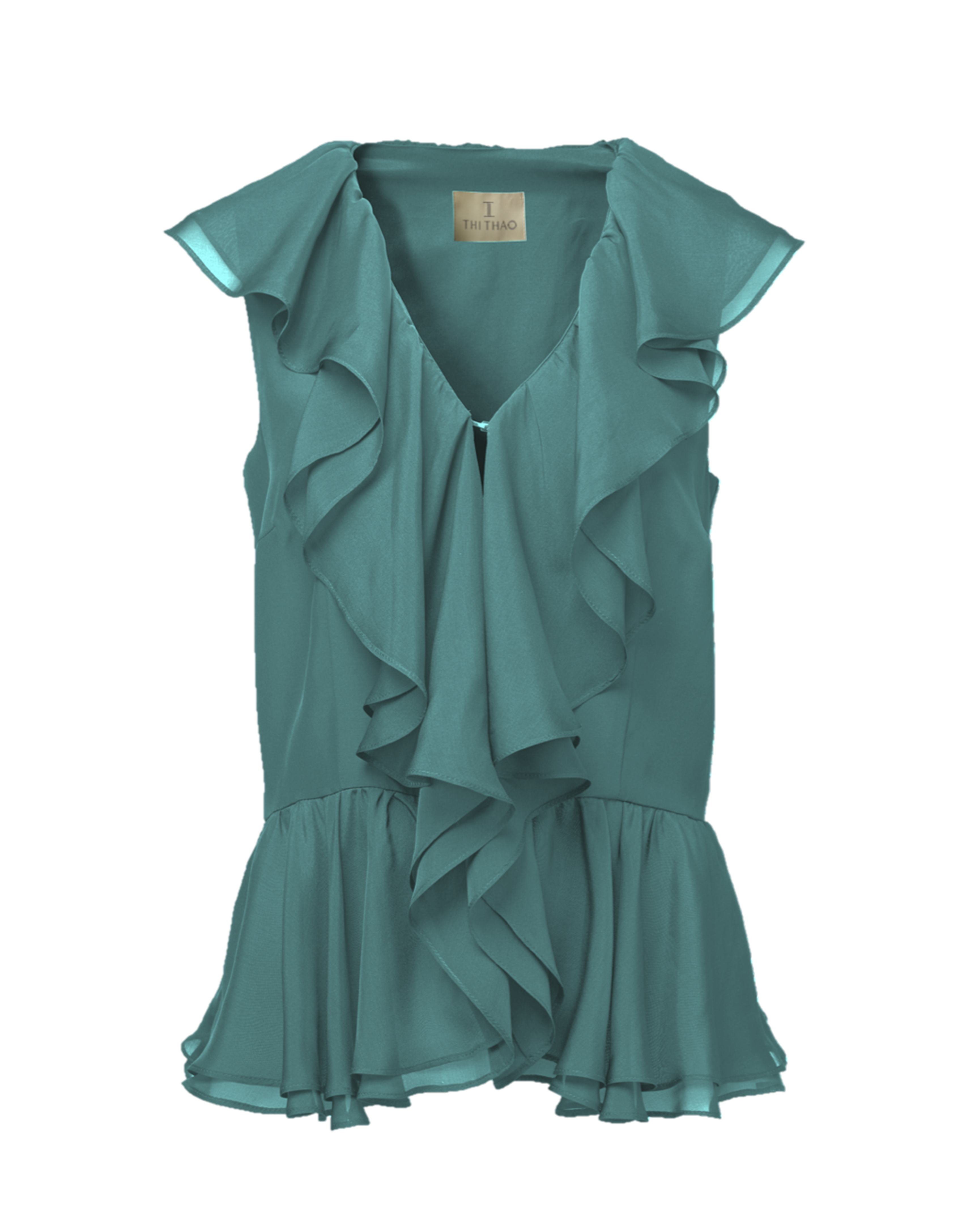 Women'S Blouse With Ruffles 27