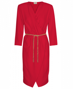 200-1501-003 Grace dress_Red