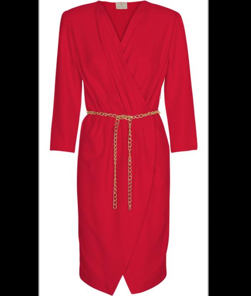 200-1501-003 Grace dress_Red
