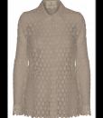 600-1501-024 Lace shirt – Stone