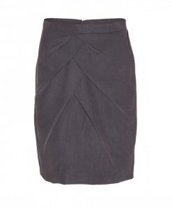300-1301-050_Drape skirt_Grey
