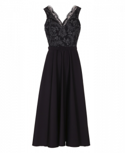Black galla dress from Thi Thao Copenhagen