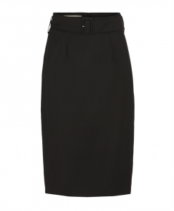 Black skirt with slimming effect