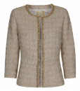 Jacket with gold colour chain