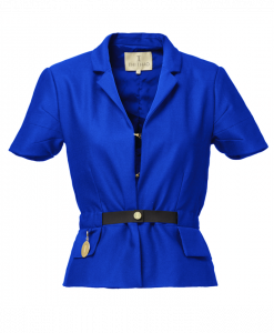 Kort jakke Royal blue