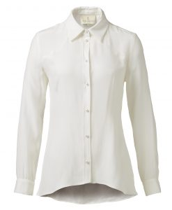 Thi-Thao-Klassisk-skjorte-hvid