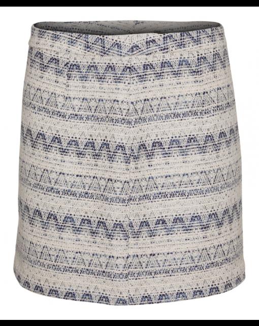 300-1501-0221_Tube skirt_White-blue