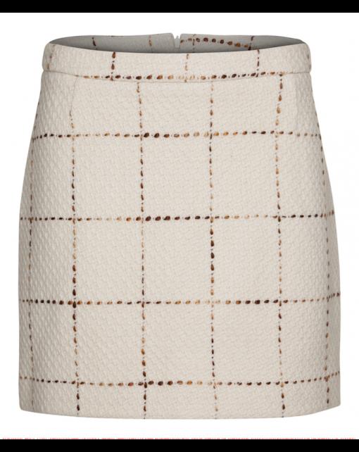 300-1501-0223 Tube skirt_White-brown