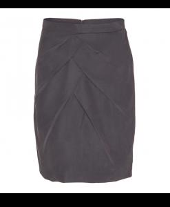 300-1301-050_Drape skirt_Grey