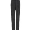 High-waist slimming pants – checks
