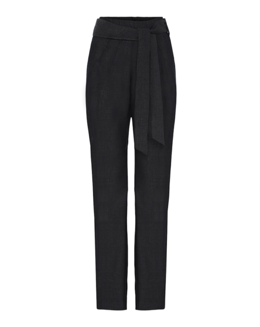 High-waist slimming pants – denim look