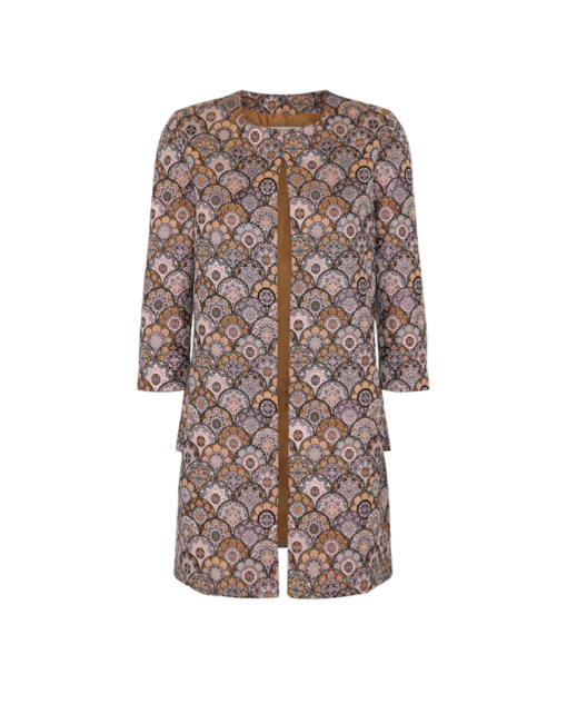 Jacket without buttons – bronce