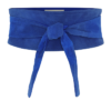 Leather belt – blue