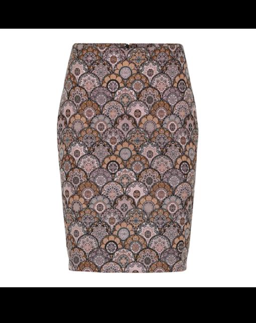 Tube skirt – bronce